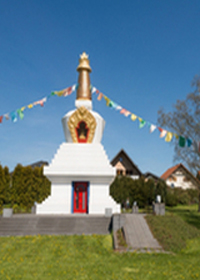 Stupa Kamalashila Institutlink